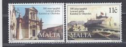 Malta 1997 - 300 Years Of Gozo Cathedral, Mi-Nr. 1018/19, MNH** - Malta