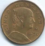 Mexico - 5 Centavos - 1959 Mo - KM426 - Mexico