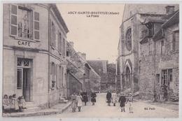 ARCY-SAINTE-RESTITUE (Aisne) - La Poste Café Boulangerie - France