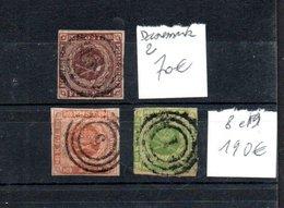 A107 Lot De Bonnes Petites Valeurs Du Danemark Côte 260 Euros. A Saisir !!! - Sammlungen (im Alben)