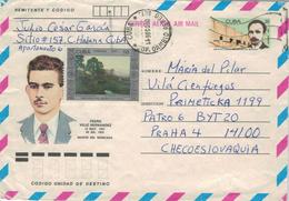 Pedro Véliz Hernández. Conocido Cariñosamente Por Caro. Miembro De La Lucha Clandestina Contra La Dictadura De Batista - Cartas