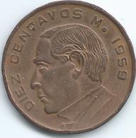 Mexico - 10 Centavos - 1959 Mo - KM433 - Mexico