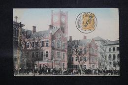 RUSSIE / CHINE - Affranchissement Plaisant De Shanghai Sur Carte Postale En 1912 , Oblitération Superbe - L 59032 - Cina