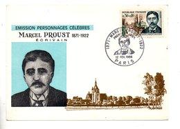 CARTE MAXIMUM . MARCEL PROUST 1871/1922 . ÉCRIVAIN - Réf. N°10291 - - 1960-69