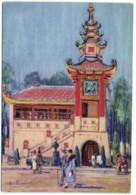 Exposition Coloniale Internationale - Paris 1931 - Pavillon De La Presse Coloniale (Sect. Indochinoise) - D'après Le Pas - Expositions