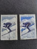 Poste N° 1326 Gris Au Lieu De Bleu. - Errors & Oddities