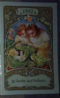 Petit Calendrier De Poche  Agenda 16 Pages Le Jardin Aux Enfants - Chambéry - Calendars