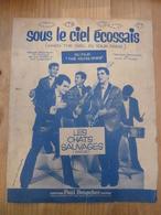 Partition Chanson Les Chats Sauvages  Sous Le Ciel écossais Du Film The Young Ones - Partitions Musicales Anciennes