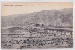 Almeria (Andalucia) Société Minière D'Almagrera Mines Mine Voie Ferrée Vers Le Desagüe - Almería