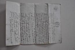 COMMUNE DE TERRASSON DORDOGNE  AVRIL 1819 COPIE TESTAMENT JEAN POMAREL - Unclassified