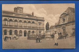 LAON      Kommandantur And Théâtre   Animées   écrite En 1917 - Laon