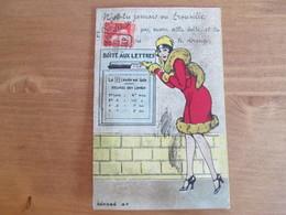 Carte A Systeme .boite Aux Lettres Boite Aux Lettres . N A Tu Jamais Vu Trouville - Mechanical