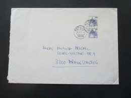 Berlin 1978 / Verwendet 1982 Freimarken BuS Nr. 588 (2) MeF  Senkrechtes Paar Vom Rechten Bogenrand! - Cartas