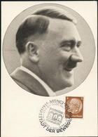 AK/CP Propaganda  Hitler  Nazi HJ       Ungel/uncirc.1933-45   Erhaltung/Cond. 2  Nr. 01001 - Guerra 1939-45