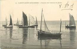 95 SAINT VALERY SUR SOMME - Rentrée Des Bateaux De Pêche - Saint Valery Sur Somme