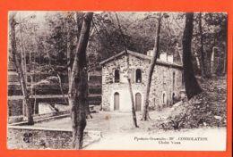 Car1771 Peu Commun CONSOLATION Près COLLIOURE (66) Chalet Vieux 1910s à BOUTET Mitrailleur 70e Territorial MTIL 380 - Other Municipalities