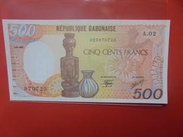 GABON 500 FRANCS 1985  PEU CIRCULER/NEUF (B.12) - Gabun
