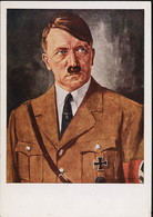 AK/CP Propaganda  Hitler  Nazi      Ungel/uncirc.1933-45   Erhaltung/Cond. 2/2-  Nr. 01004 - Guerra 1939-45