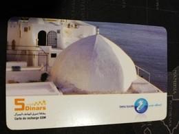 TUNESIA   PREPAID   5 DINAR    CARD     FINE USED    ** 1606** - Tunesien