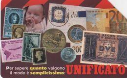 USATA-2192- TELECOM ITALIA-UNIFICATO - Italia