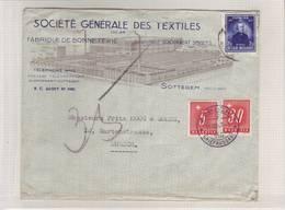 Belgique 1947. Lettre Expédiée De Sottegem Pour Zürich. (Taxée) - Covers & Documents