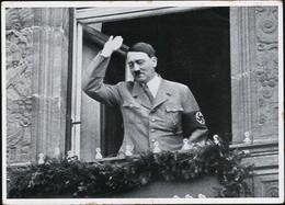 AK/CP Propaganda  Hitler  Reichsparteitag  Nürnberg Nazi      Gel/circ.1933-45   Erhaltung/Cond. 2-  Nr. 01005 - Guerra 1939-45
