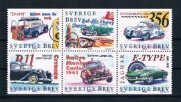 Schweden 1997 Autos Mi.Nr. 2019/24 Kpl. Satz ** - Suède