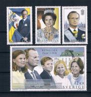 Schweden 1993 Königliche Familie Mi.Nr. 1793/96 Kpl. Satz ** - Nuovi