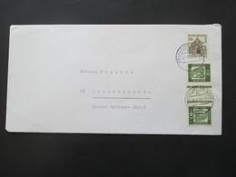 Berlin 1970 Freimarken Bedeutende Deutsche Kehrdruck KZ 1 MiF Mit Bauwerke Nr. 242 - Cartas