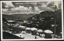 AK/CP Propaganda  Hitler  Obersalzberg  Haus Wachenfeld       Ungel/uncirc.1933-45   Erhaltung/Cond. 2  Nr. 01006 - War 1939-45