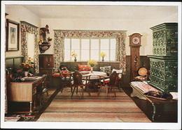 AK/CP Propaganda  Hitler  Obersalzberg  Haus Wachenfeld       Ungel/uncirc.1933-45   Erhaltung/Cond. 1-  Nr. 01007 - War 1939-45