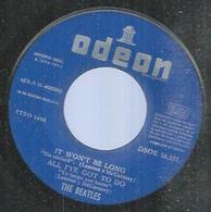 """45 Tours EP -  THE BEATLES  - ODEON 16577  """" IT WON'T BE LONG """" + 3  ( Sans Pochette - ESPAGNE ) - Dischi In Vinile"""