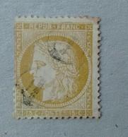 CERES N°59 OBLITERATION CACHET DE FACTEUR - 1871-1875 Ceres