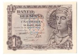 SPAIN1PESETA19/06/1948P135UNC.CV. - 1-2 Pesetas