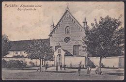 Varaždin, Kapuzinerkirche, Unused, Brown Stains - Croatia