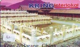 Telecarte  * CHINE Reliée (162) CHINA Verbunden - CHINA  Related - Phonecard - - Paysages