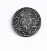 REUNION   PIECE   DE  100  FRANC   1964  ESSAI - Réunion