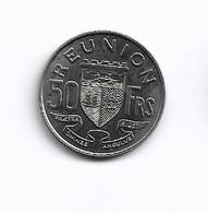 REUNION   PIECE   DE  50  FRANC   1962  ESSAI - Réunion