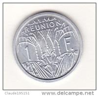 REUNION   PIECE   DE  1  FRANC   1964  (CHOUETTE) - Réunion