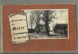 Mater In Prentkaarten En Oude Foto's , 114 Blz - Oudenaarde