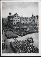 AK/CP Propaganda  Hitler  Reichsparteitag Nürnberg    Gel/circ.1937   Erhaltung/Cond. 2/2-  Nr. 01011 - War 1939-45