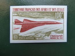 FRANCE Colonies   AFARS ET ISSAS 100 Francs CONCORDE   NON DENTELES Neufs Sans Charnière MNH Voir  Scans - Afars E Issas (1967-1977)