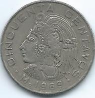Mexico - 50 Centavos - 1969 Mo - KM451 - Mexico