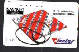 Telecarte Japon  * SUÈDE Reliée (20) SCHWEDEN Verbunden - SWEDEN  Related - ZWEDEN  Japan Phonecard - - Paysages