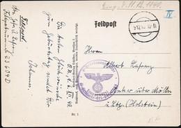 AK/CP Propaganda Göring  Feldpost  SS Verfügungstruppe    Gel/circ.1940   Erhaltung/Cond. 2  Nr. 01017 - Weltkrieg 1939-45