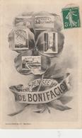 Corse Du Sud.  Une Pensée De Bonifacio. - Autres Communes