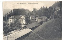 """1243. MORTEAU . BRASSERIE """" CHOPARD """" AFFR AU VERSO LE 5-1-1924 . 2 Scanes - France"""