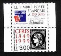 1999-FRANCE N°3211** CERES+VIGNETTE - Neufs