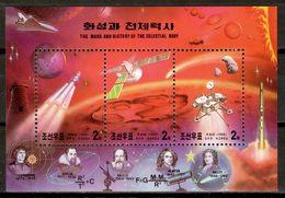 Korea North 1999 Corea / Space Mars Astronomy MNH Astronomía Marte Espacio Astronomie / Cu17035  10-15 - Astrología