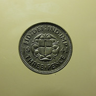 Great Britain 3 Pence 1941 Silver - F. 3 Pence